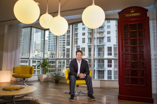 Philippe Houdard lives in Brickell and founded Pipeline, a shared workspace for startups, freelance workers and global companies that need a pied-a-terre in Miami.