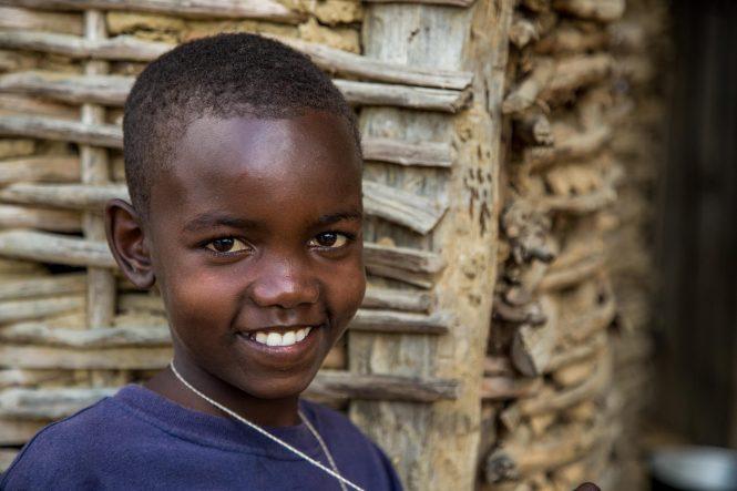 Lounise Derval family in Haiti.