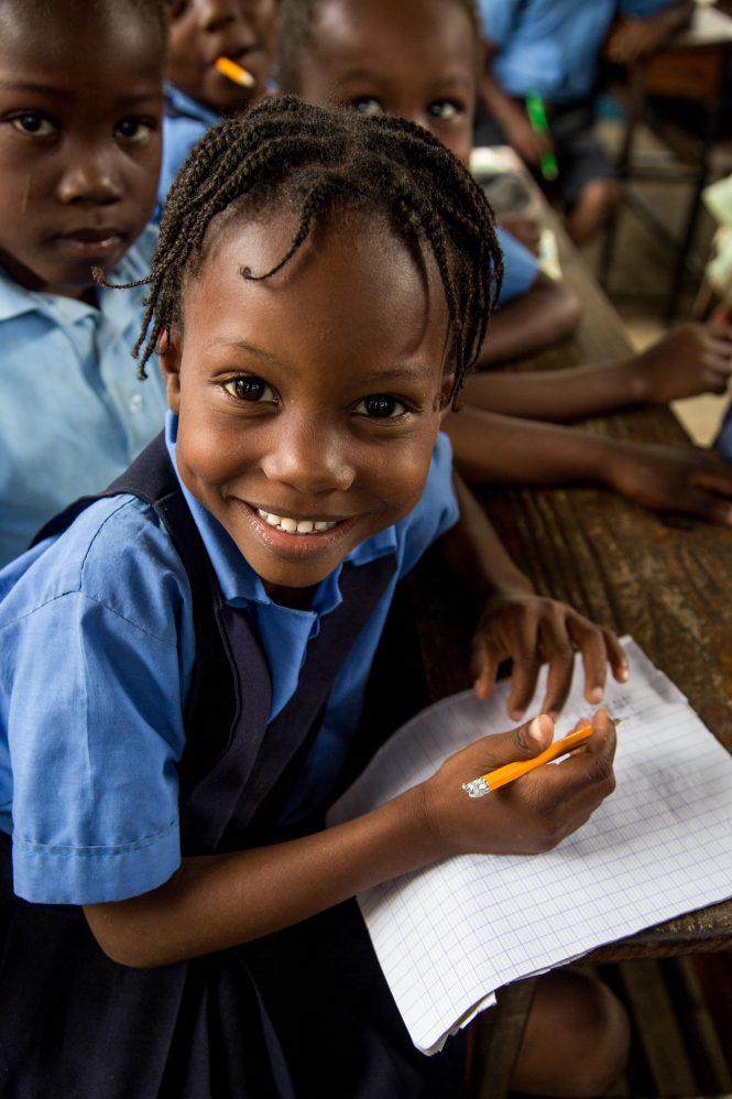 Kobonal Mission school in Haiti.