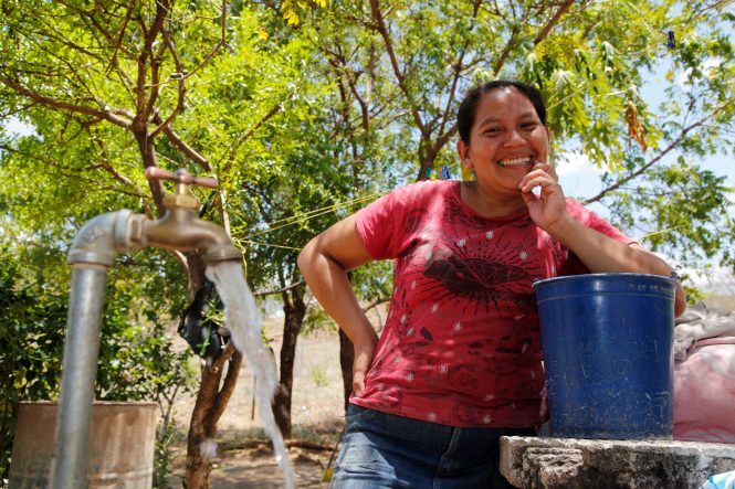 A project with Amigos for Christ.Luis Carrazo and Marixa Vargas family. Water project and proposed expansion project in Nance Dulce, near Chinandega, Nicaragua. Cross International and Cross Catholic Outreach to Nicaragua May 10-20, 2016.